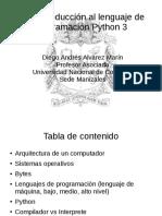 01 - Introduccion a Python 3