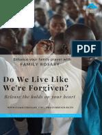 do we live like were forgiven