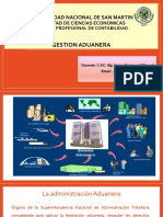 3ra Semana Gestion Aduanera
