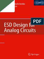 Vladislav A. Vashchenko, Andrei Shibkov (auth.) - ESD Design for Analog Circuits-Springer US (2010).pdf