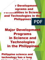 Major Development Programs and Personalities in Science and-1