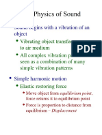 Basic Dimensions of Sound