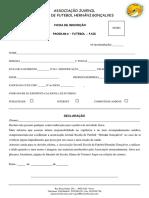 Ficha Inscrição Pais