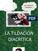 tildacion diacritica