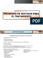 Notas Programa de Aditivos