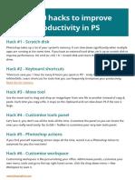 Top Hacks PS Productivity
