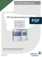 Manual de Instalacion de Condensadoras VRF.pdf