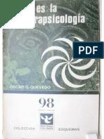 Qué Es La Parapsicología - Oscar Gonzalez Quevedo. Www.survivalafterdeath.blogspot.com