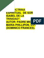 LA DOCTRINA ESPIRITUAL  DE SOR ISABEL DE LA TRINIDAD.docx
