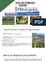 Sistema de Irrigación Agrotecnia