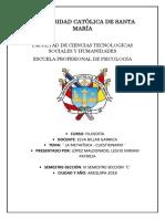 CUESTIONARIO TAREA METAFISICA