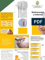 Medicamentos y Embarazo