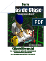 Apuntes y Experiencias Cálculo Diferencial