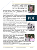 About FMI & Pastor PA.chacko