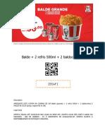 pdf cupom kfc balde