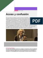 Acoso y Confusión-Nuevo Libro de Marta Lamas