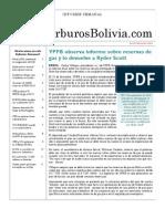 Hidrocarburos Bolivia Informe Semanal Del 01 Al 07 Nov 2010
