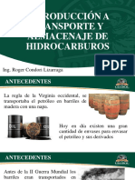Capítulo i - Introducción a Transporte y Almacenaje de Hidrocarburos - Capítulo II - Sistema de Transporte de Hidrocarburos en Bolivia - Ing. Condori-1