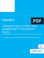 T3_SharePoint 365 Administrando Información Entre SharePoint y Microosft Excel