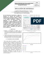 Identificación de Sistemas