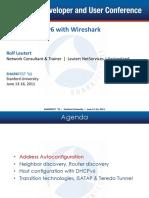 B-3 Leutert-Discovering IPv6 With Wireshark