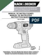 manual Blacker e Decker LD108