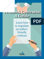 Textbook royalties guide