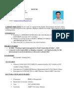 Updatd Resume Sjr