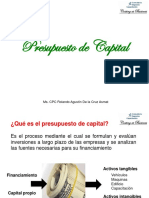 6. Presupuesto de Capital (1)
