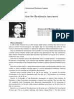 Introduction to Ryodoraku Treatment