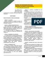 Lectura - Ley General de Sociedades Peruana