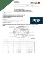 Evaluacion Coordenadas Geograficas Grado Sexto