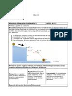Guía de Actividades y Rúbrica de Evaluación - Tarea 1 - Medición y Cinemática