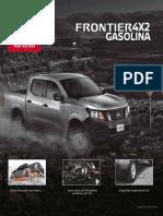 Brochure NP300Frontier Gasolina Colombia