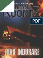 Dean Koontz - Fara Indurare