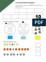 Evaluación de Inicial