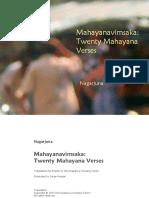 Mahayana Verses