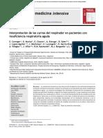 Interpretación de Las Curvas Del Respirador en Pacientes Con Insuficiencia Respiratoria Aguda