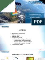 La Teledeteccion y Sus Aplicaciones en El Ambito Geologico Minero