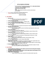 Guide in Citations