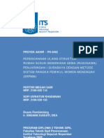 Its-nondegree-7659-3106030114-Perencanaan Ulang Struktur Rumah Susun Sederhana Sewa Rusunawa an i Surabaya Dengan Metode Sistem Rangka Pemikul Momen Menengah (Srpmm)