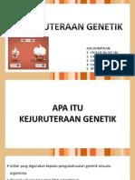 kejuruteraan genetik