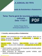 Teoria geral de recursos e recurso ordinário.pdf