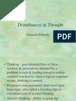 Disturbances in Thought Kjw 161