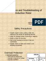 Maintenance and Troubleshooting of Induction Motor