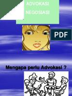 Advokasi Dan Neg