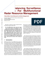 A Load Balancing Surveillance Algorithm For Multifunctional Radar Resource Management.pdf