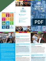 Iniciativas de la Campaña de Acción ODS