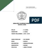 Cover Analisis Bahasa Jawa