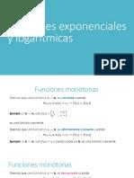 Funciones Exponenciales y Logaritmicas_Semana 10